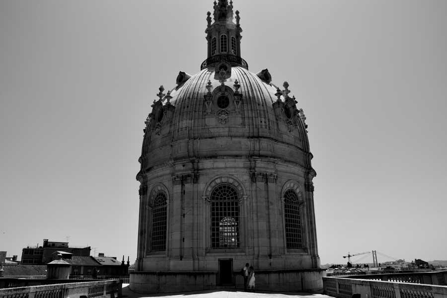 Portekiz rotası Lizbon Estrela Bazilikası - Portugal route Estrela Basilica (Basílica da Estrela)