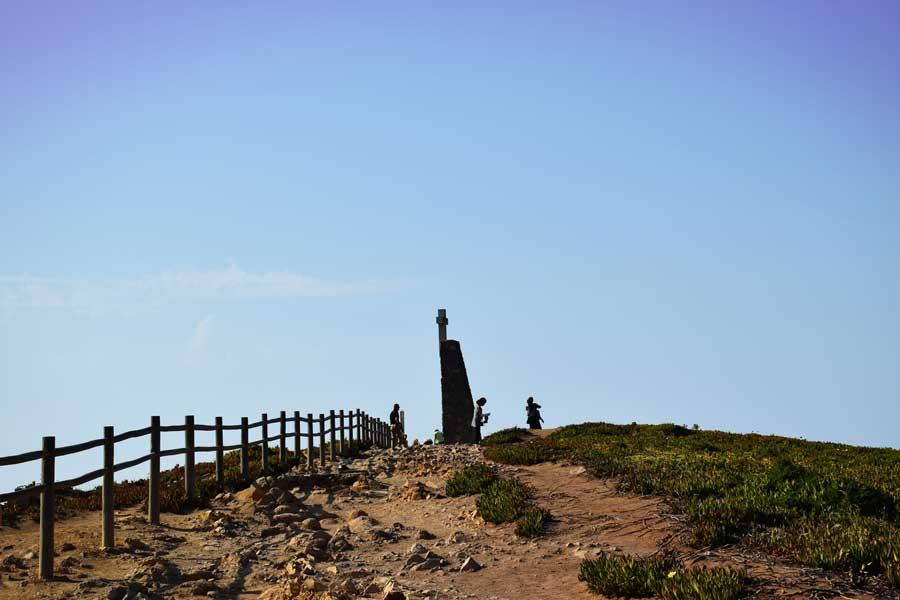 Roca Burnu Anıtı Avrupa'nın en batı ucu - Cabo da Roca, Roca Cape Monument, Europe's westernmost