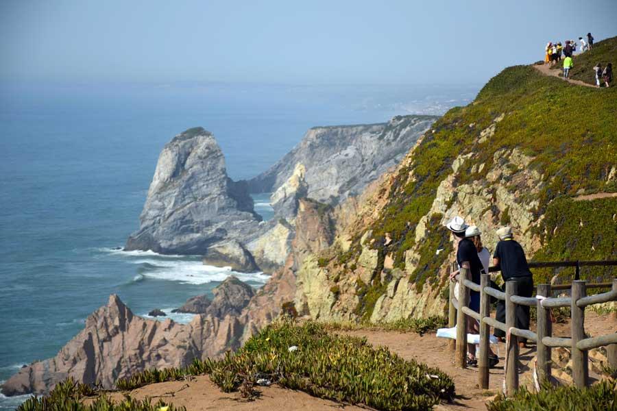 Roca Burnu Anıtı Avrupa'nın en batı ucu - Europe's westernmost Roca Cape Monument (Cabo da Roca)