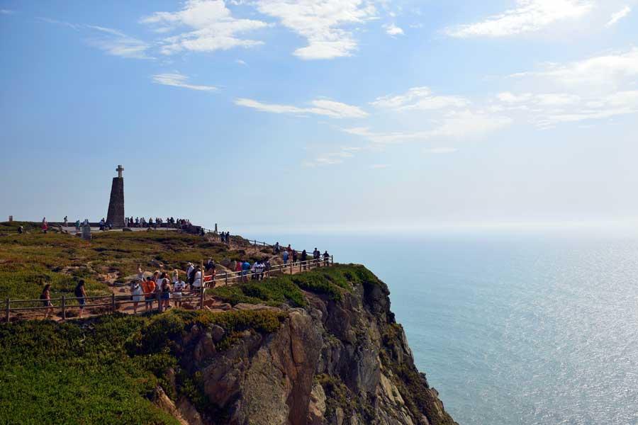 Roca Burnu Anıtı Avrupa'nın en batısı - Roca Cape Monument Europe's westernmost (Cabo da Roca)