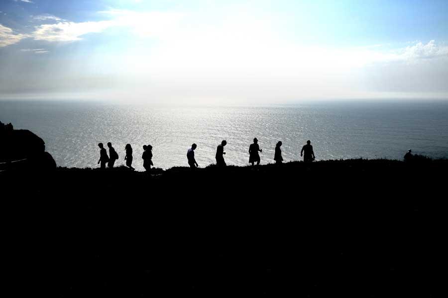 Roca Burnu fotoğrafları Avrupa'nın en batı ucu - Roca Cape Monument, Europe's westernmost (Cabo da Roca)