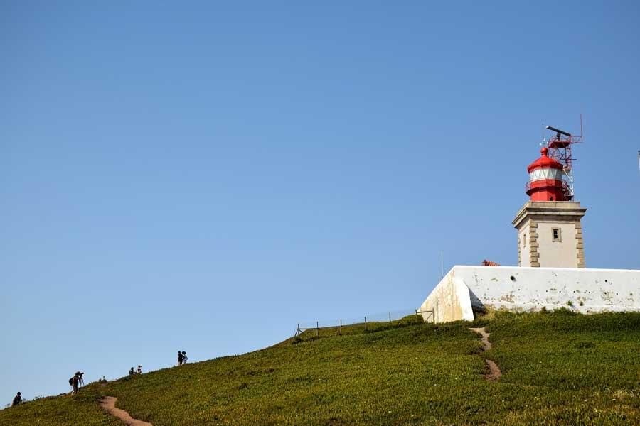 Roca Burnu fotoğrafları Avrupa'nın en batı ucu - Roca Cape Monument Europe's westernmost (Cabo da Roca)