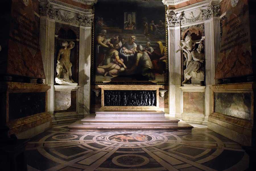 Roma önemli bazilikaları Santa Maria del Popolo Bazilikası - Rome Basilica Parrocchiale Santa Maria del Popolo