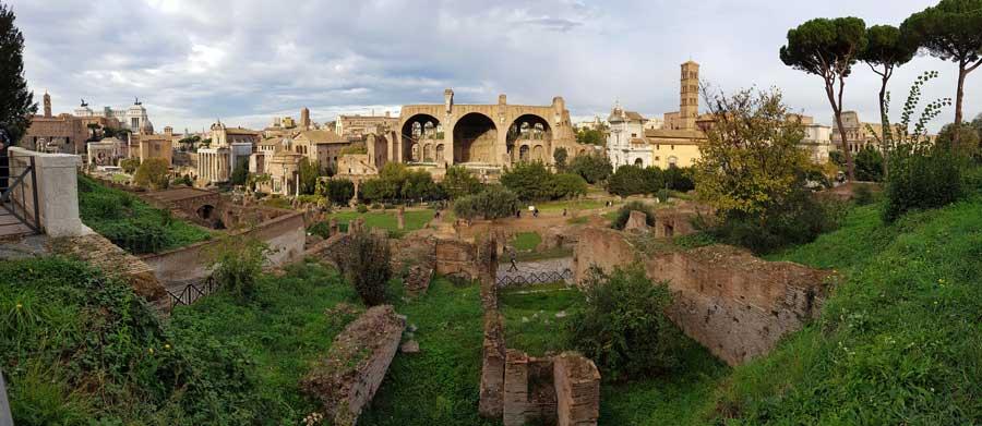 Roma Forumu Maxentius Bazilikası - Rome Basilica of Maxentius (Basilica di Massenzio)