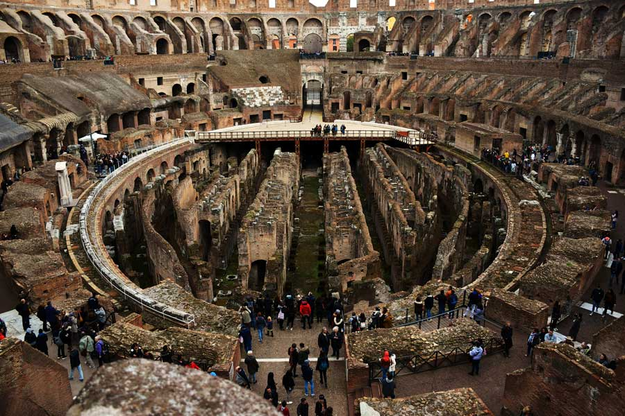Roma Kolezyum fotoğrafları - Rome Colosseum inside Colosseum photos