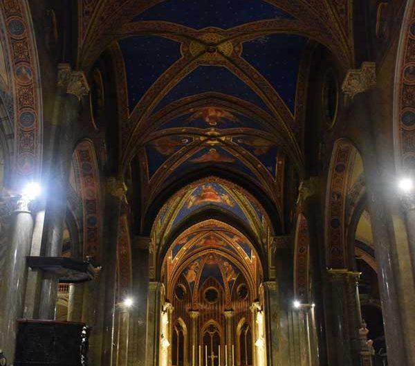 Roma Santa Maria Sopra Minerva Kilisesi - Rome Basilica di Santa Maria sopra Minerva