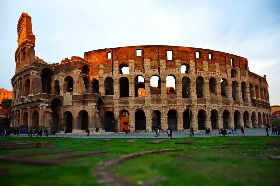 Roma gezilecek önemli yerler Kolezyum fotoğrafları - Colosseo Colosseum photos