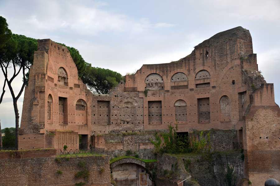 Roma Palatino Tepesi Bilgileri; Antik Roma Tapınakları ve Sarayları