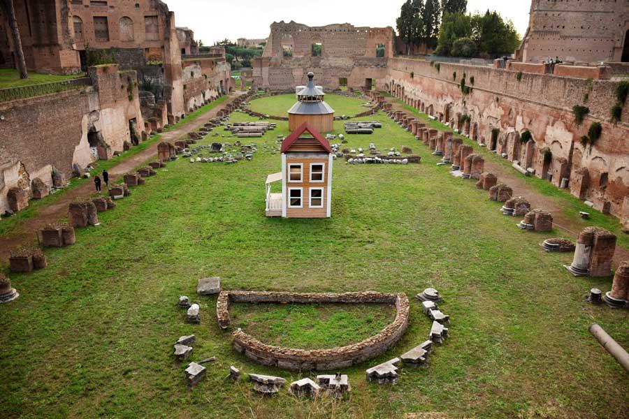 Roma gezilecek önemli yerler Palatino tepesi Palatino stadyumu - Rome Palatine hill stadium (Stadio)