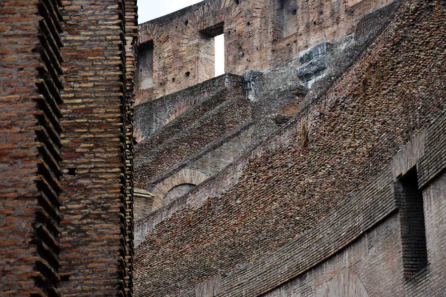 Roma gezilecek önemli yerler yerler Kolezyum fotoğrafları - ancient Colosseum photos