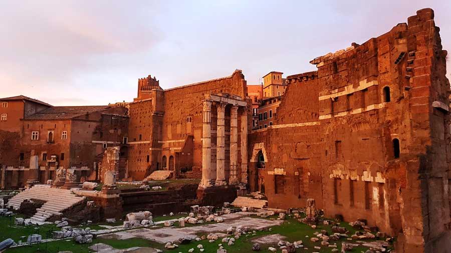 Roma Forumları Bilgileri, Eserleri ve İmparatorluk Yolu