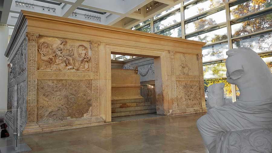 Roma gezilecek müzeler Ara Pacis Müzesi Görkemli Barış Sunağı - Rome Ara Pacis Museum photos The Altar of Augustan Peace