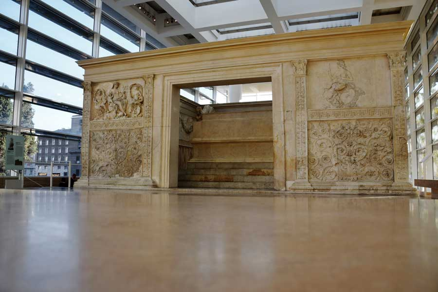 Roma gezilecek yerler Ara Pacis Müzesi Augustus sunağı (Görkemli Barışın Sunağı) - Rome Ara Pacis Museum the Altar of Peace photos