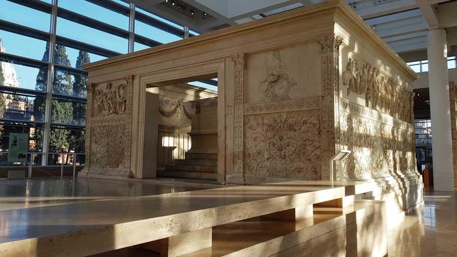 Roma gezilecek yerler Ara Pacis Müzesi fotoğrafları - Rome Ara Pacis Museum photos
