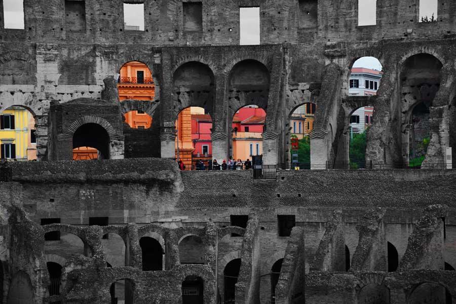 Roma gezilecek yerler Kolezyum fotoğrafları - Colosseum photos