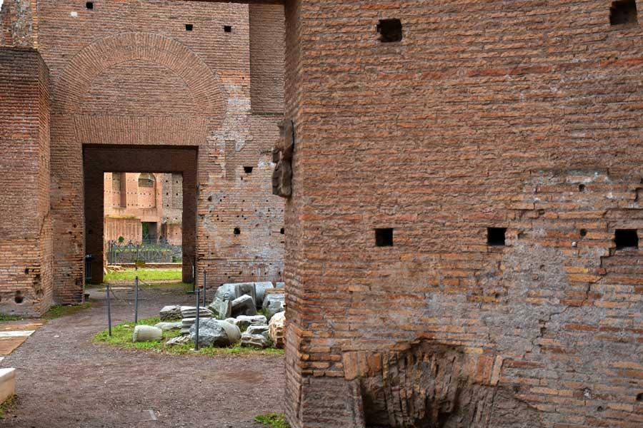 Roma gezilecek yerler Palatino Tepesi Roma Forumu Domus Augustana - Rome Domus Augustana on the Palatine Hill Roman Forum