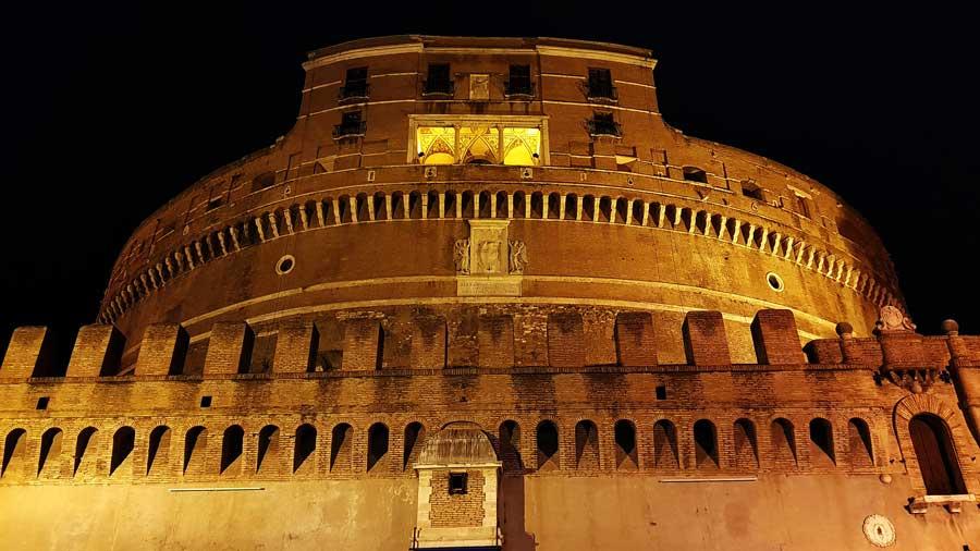 Roma gezilecek yerler Sant'Angelo Kalesi fotoğrafları - Rome Castel Sant Angelo
