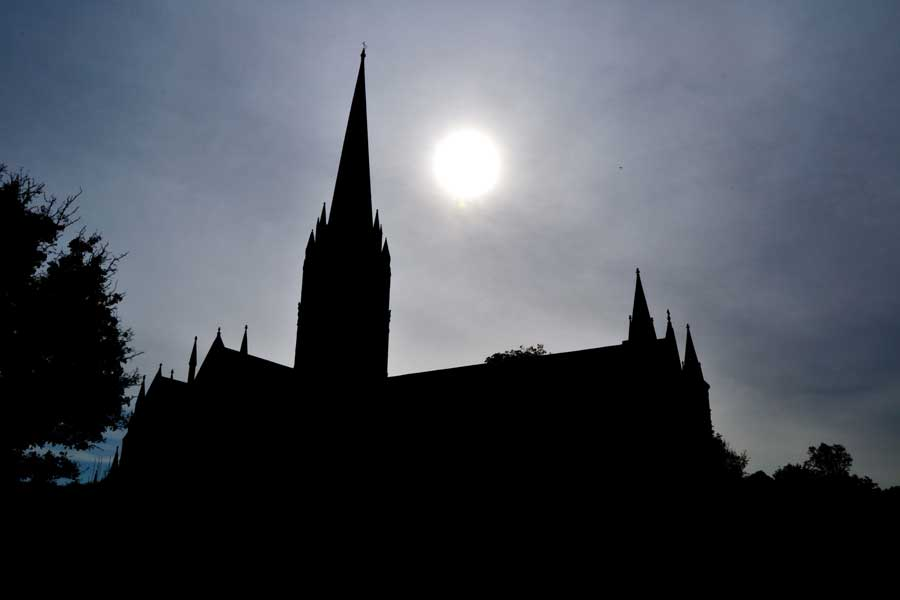 Salisbury Katedrali fotoğrafları İngiltere gezilecek yerler - Cathedral of the Blessed Virgin Mary