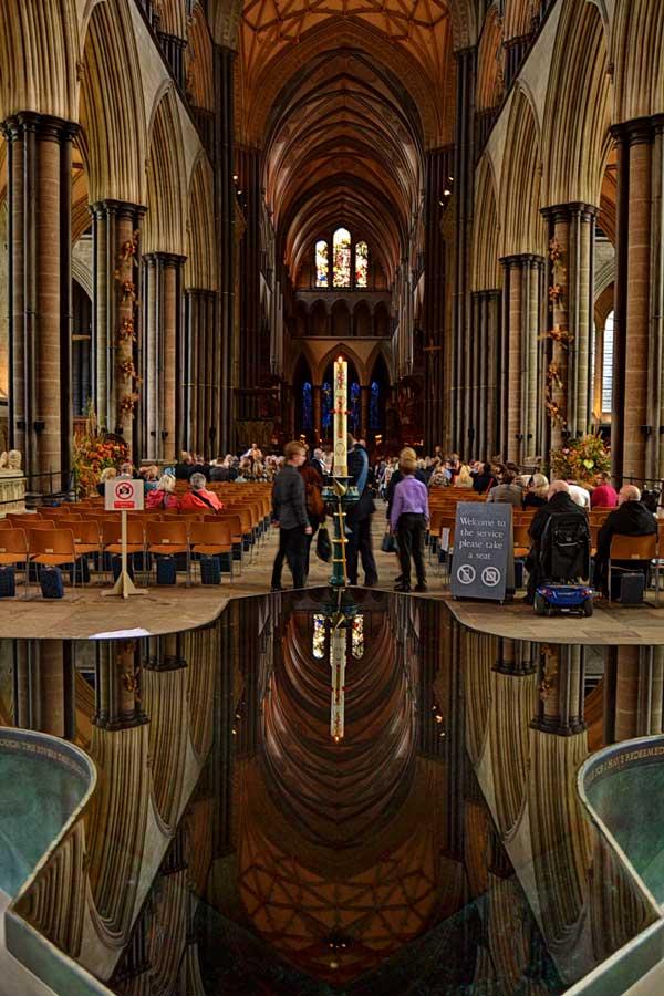 Salisbury Katedrali fotoğrafları ayin zamanı - rituel time of the Salisbury Cathedral