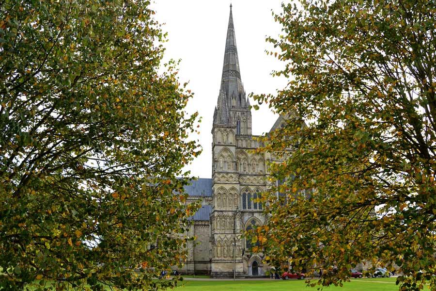 İngiltere gezilecek yerler Salisbury fotoğrafları - Salisbury, Cathedral of the Blessed Virgin Mary photos