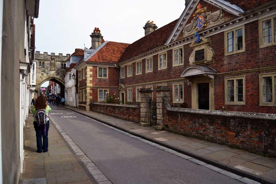 İngiltere gezilecek yerler Salisbury fotoğrafları sokaklar - Salisbury streets photos