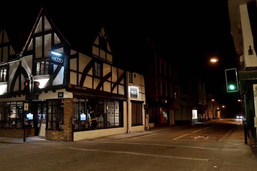 Salisbury fotoğrafları tarihi ortaçağ evleri - Medieval historical houses of Salisbury