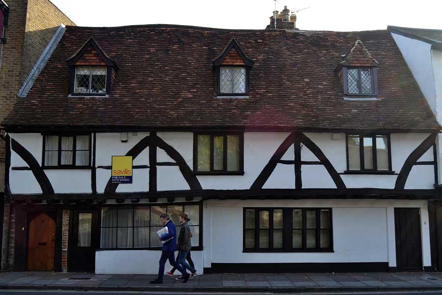 İngiltere gezilecek yerler Salisbury tarihi ev fotoğrafları - England historical houses of Salisbury