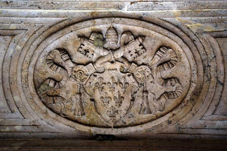 Sant Angelo Kalesi tarihi Vatikan arması - Castle Sant Angelo historical Vatican arms