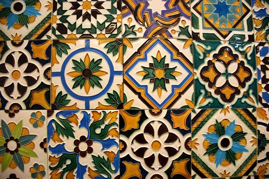 Sintra Ulusal Sarayı fotoğrafları seramikler - ceramics of the National Palace of Sintra (Palácio Nacional de Sintra)