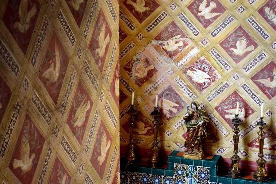 Sintra fotoğrafları Quinta da Regaleira sarayı içi - Sintra Quinta da Regaleira Palace