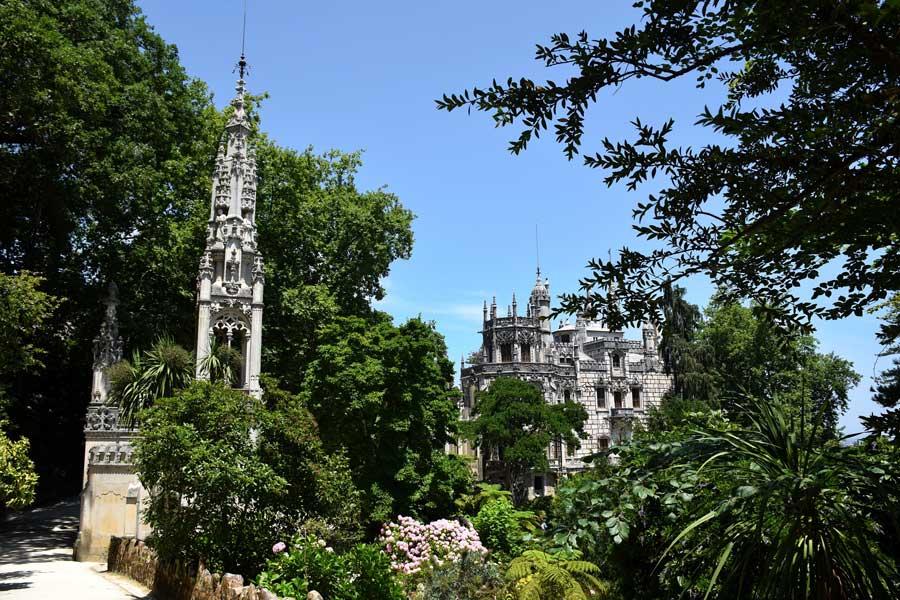 Sintra fotoğrafları Quinta da Regaleira sarayı ve bahçesi - Sintra photos Quinta da Regaleira Garden