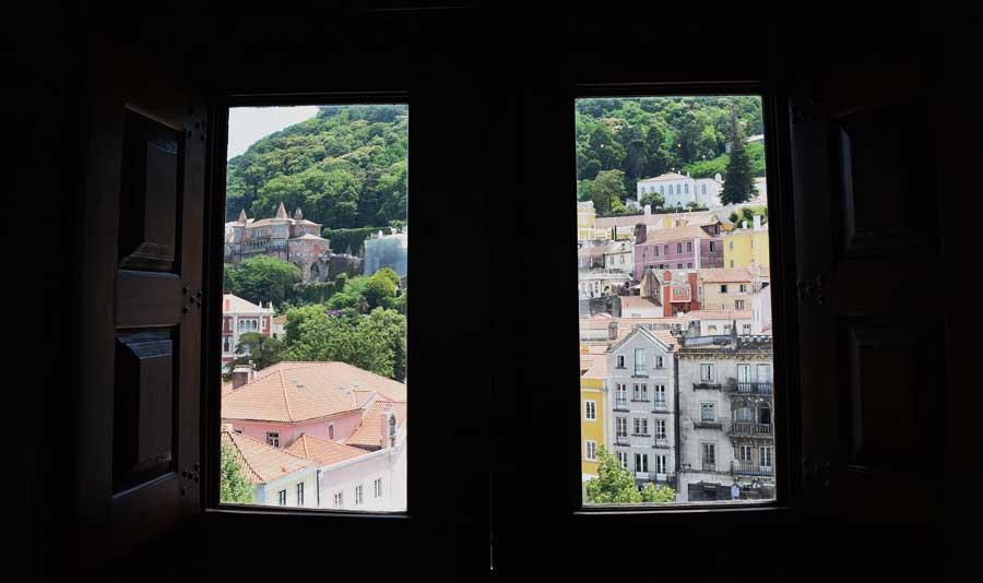 Sintra fotoğrafları Sintra Ulusal Sarayı içinden Portekiz - photos of the National Palace of Sintra (Palácio Nacional de Sintra)