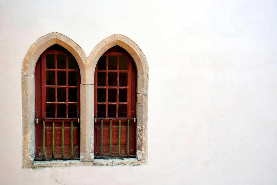 Sintra fotoğrafları Sintra Ulusal Sarayı mimari detayları - architectural details of National Palace of Sintra