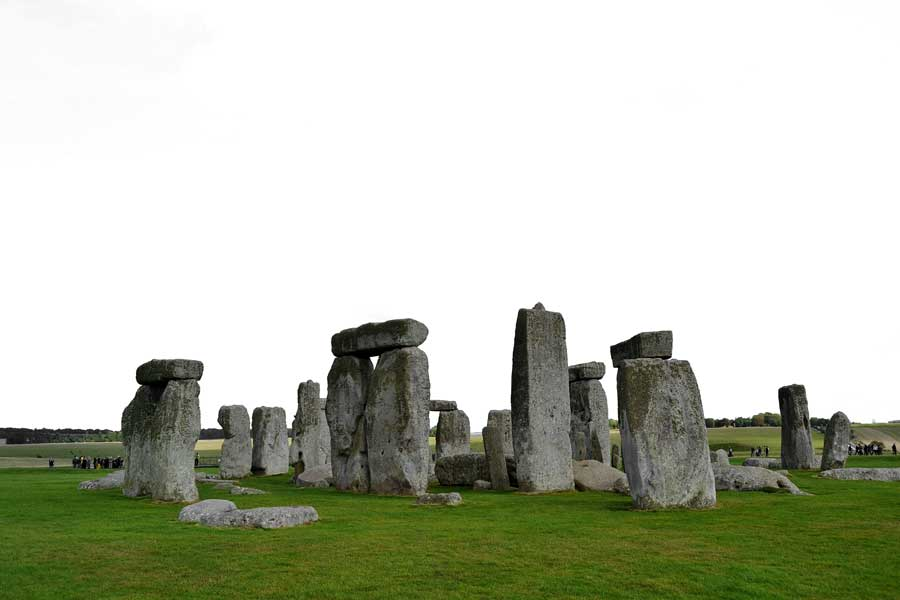 Stonehenge fotoğraf albümü - Stonehenge prehistoric monument photo