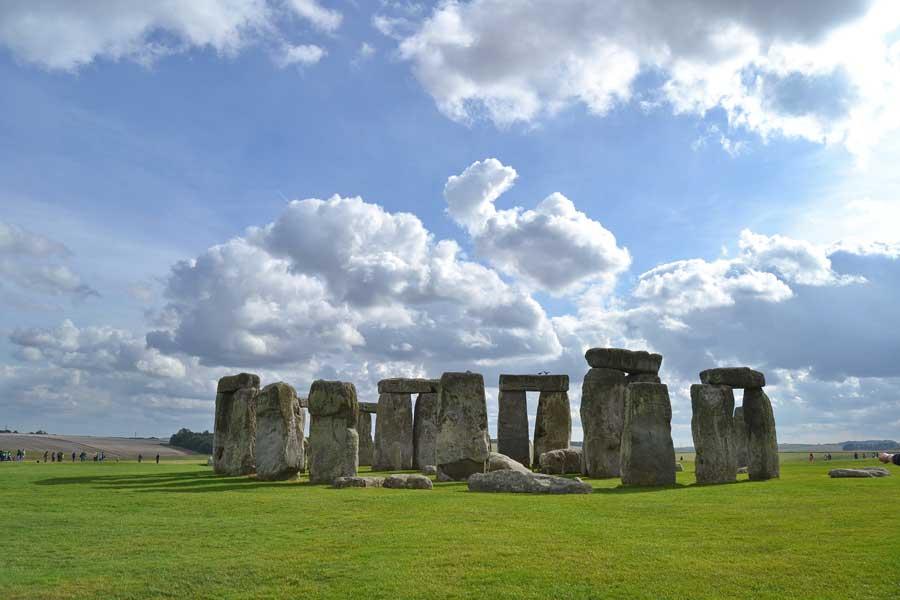 Stonehenge fotoğrafları Salisbury Stonehenge tarih öncesi anıtı İngiltere - England Stonehenge prehistoric monument photos