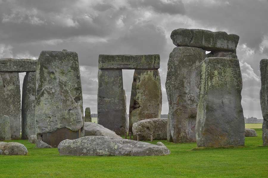 Stonehenge fotoğrafları Stonehenge tarih öncesi anıtı İngiltere - England Stonehenge prehistoric monument photos