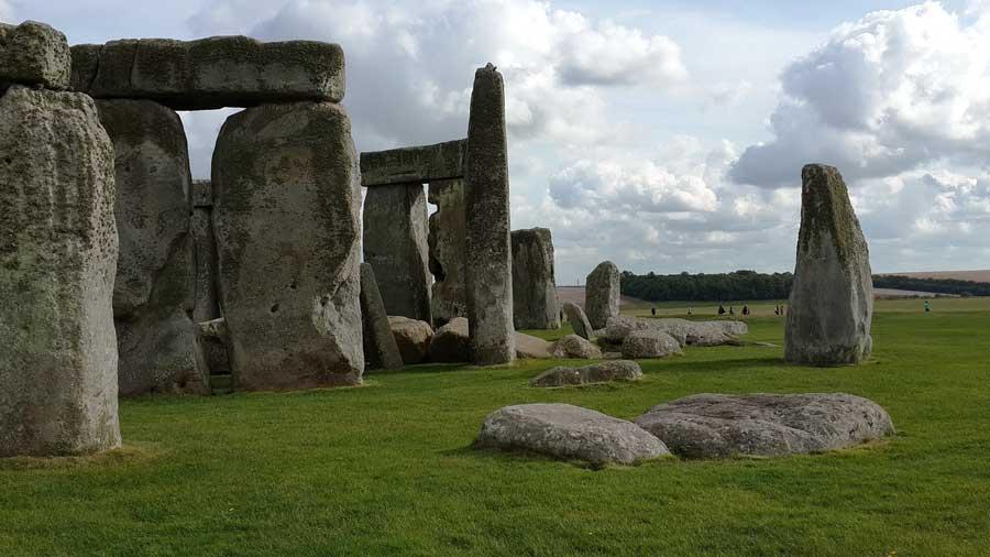 İngiltere Stonehenge Anıtı Tarihöncesi Ritüel Alanı
