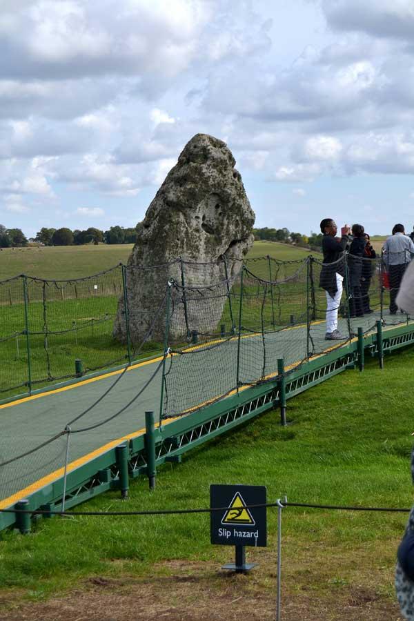 Stonehenge fotoğrafları Topuk Taşı - Stonehenge prehistoric monument Heel Stone