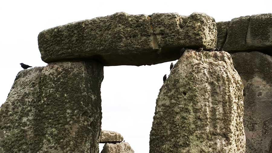 Stonehenge tarihöncesi anıtı dikilitaşları - Stonehenge photos