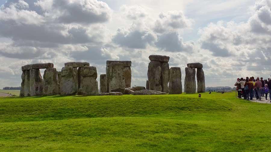 Stonehenge tarihöncesi anıtı dikilitaşları fotoğrafları - Stonehenge prehistoric monument
