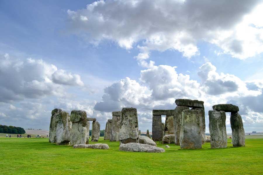 Stonehenge tarih öncesi anıtı fotoğrafları - England Stonehenge prehistoric monument photos