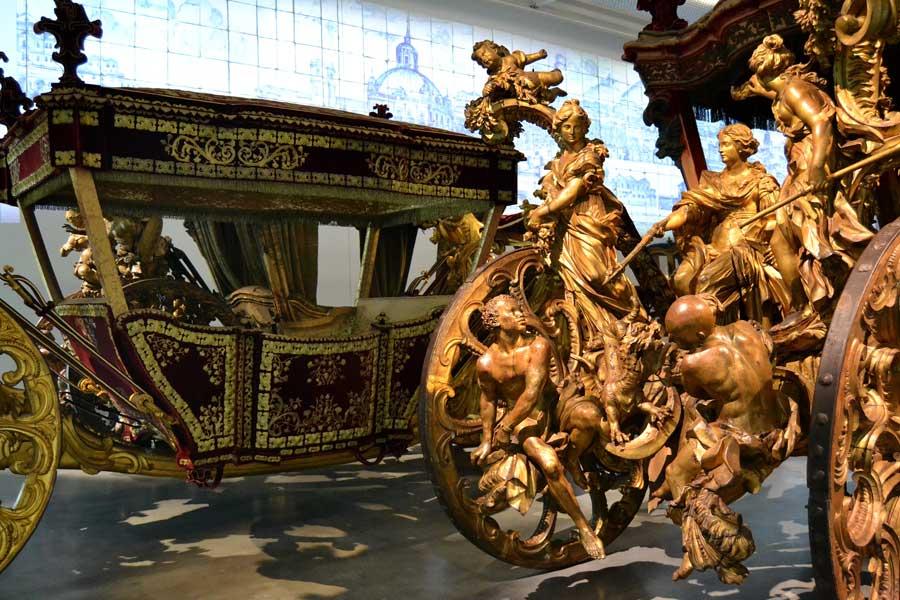 Portekiz Lizbon Ulusal Fayton Müzesi Eserleri ve Fayton Tarihi