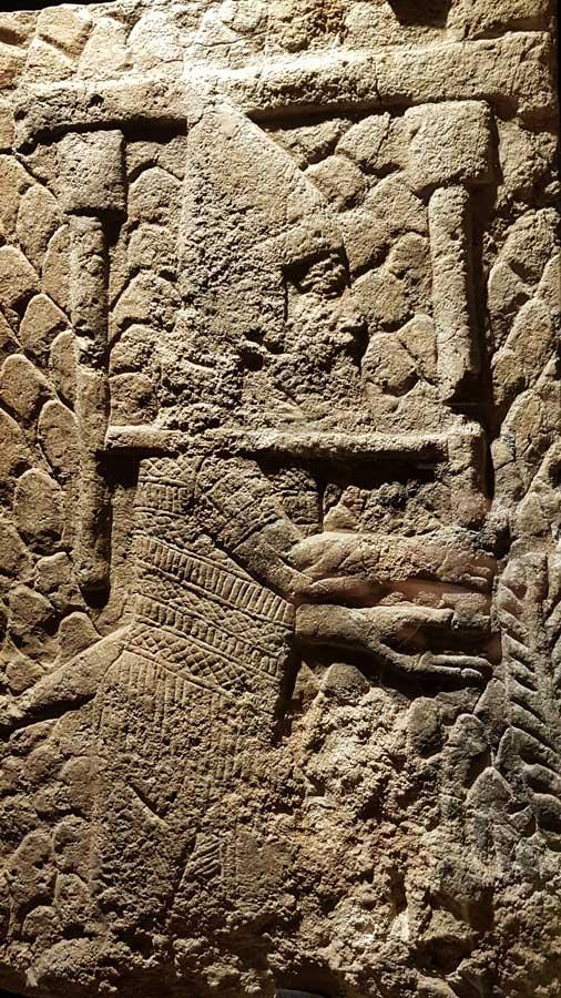 Vatikan müzeleri eserleri Asur kabartmaları - Vatican museums Assyrian reliefs