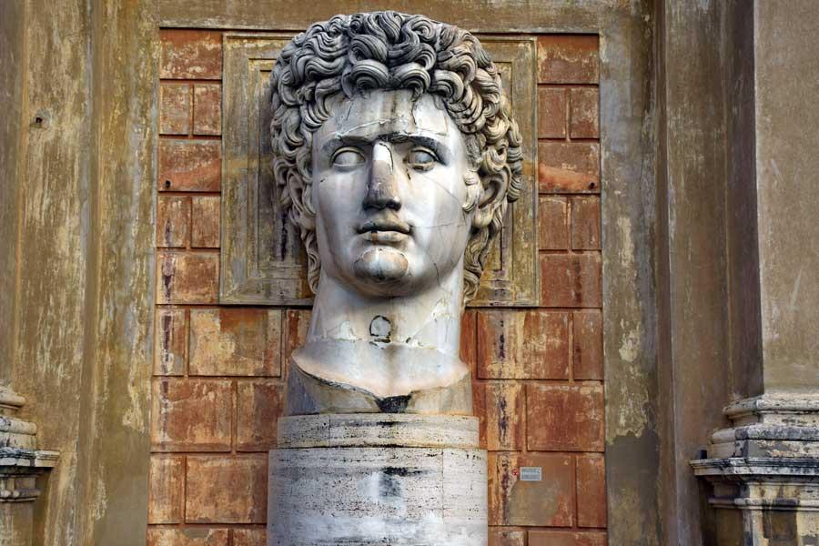 Vatikan müzeleri eserleri Augustus heykeli - Vatican museums statue of Augustus