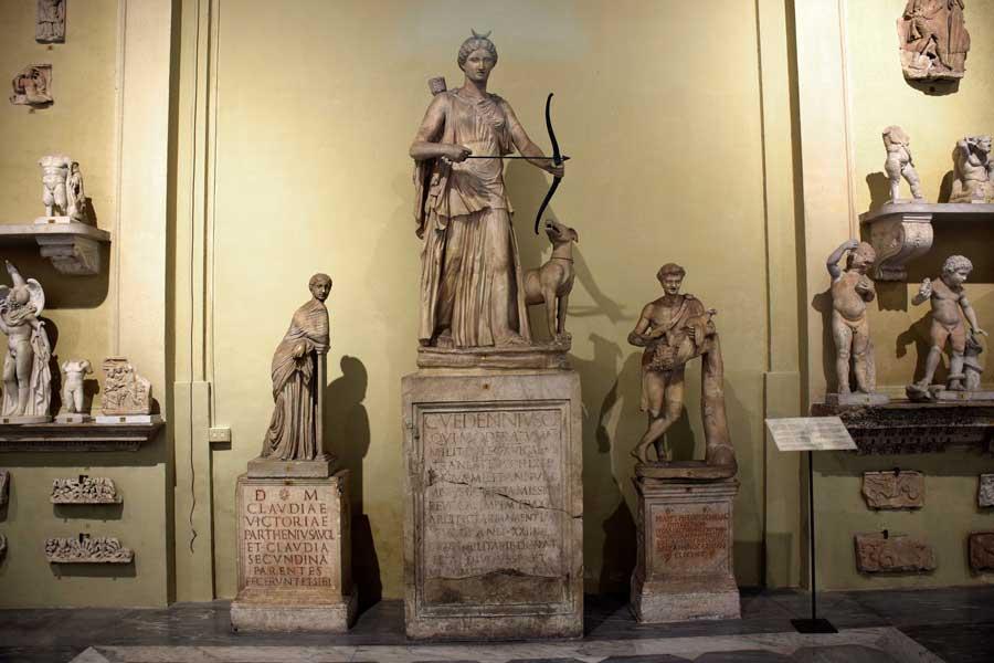 Vatikan müzeleri heykelleri Roma imparatorluğu dönemi heykelleri - Vatican museums sculptures of Roman Empire era