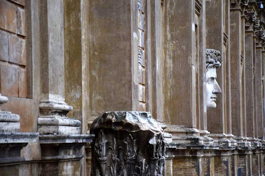 Vatikan müzeleri tarihi eserleri Augustus heykeli - Vatican museums statue of Augustus
