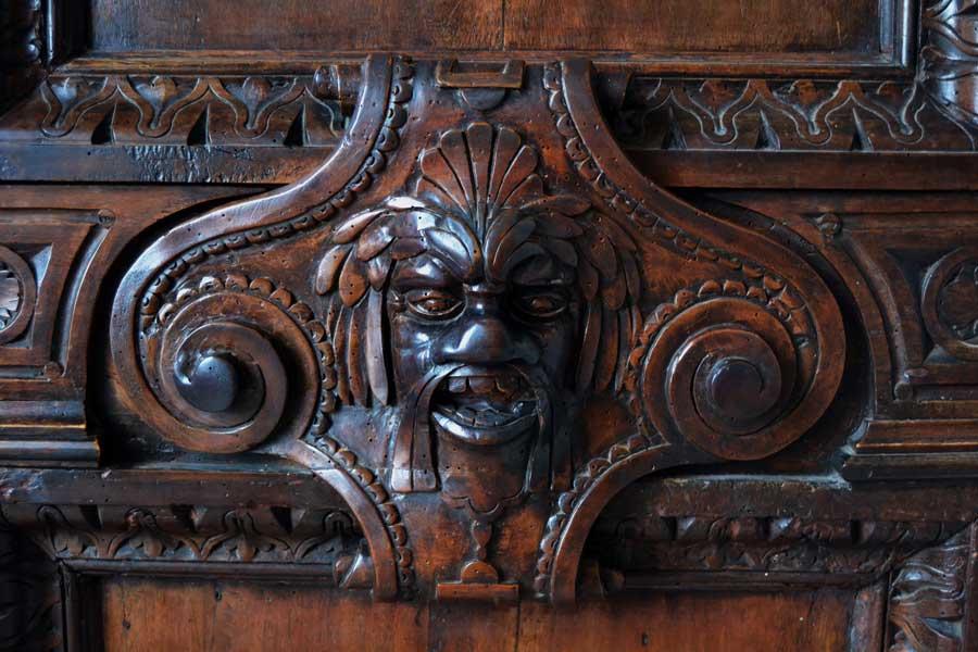 Venedik fotoğrafları Doçlar Sarayı Büyük Konsül Salonu kapı süslemeleri - Venice Palazzo Ducale Chamber of the Great Council door decorations