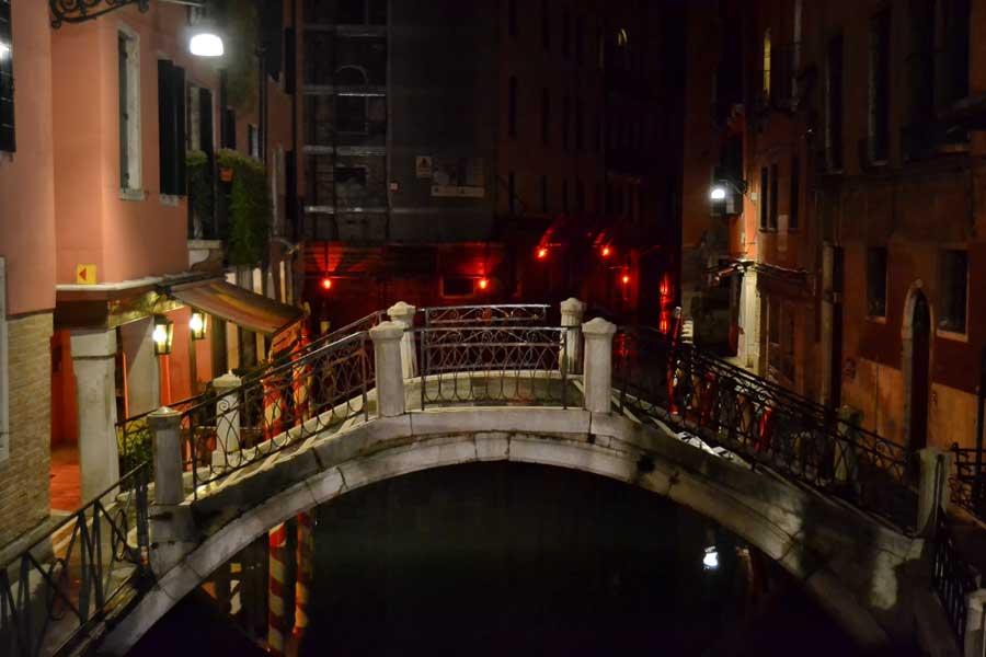 Venedik fotoğrafları kanal köprüleri - Famous canaletto bridges of Venice