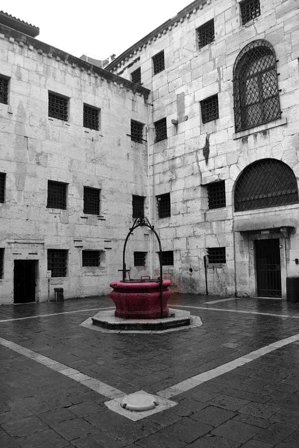 Venedik gezilecek yerler Doçlar Sarayı iç avlu ve localar - Venice Palazzo Ducale the courtyard and the loggias