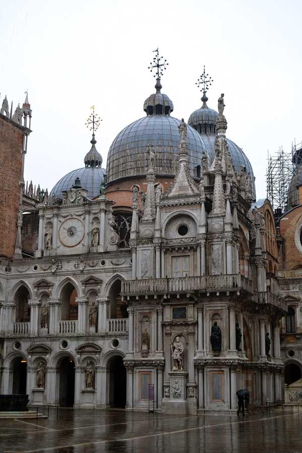Venedik gezilecek yerler San Marco Bazilikası - Venice San Marco Basilica